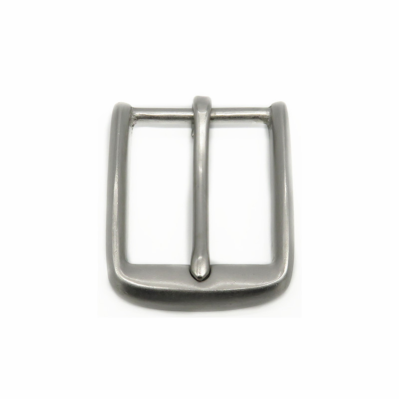 40mm Matte Silver Metal Square Pin <strong>Buckle</strong> For Belt