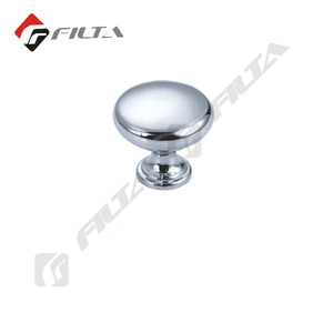 furniture hardware simple style silver cabinet knob