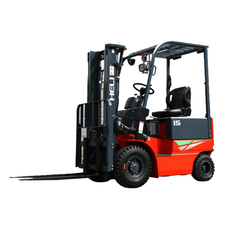 2 Ton Walk Behind Pallet Stacker Electric Forklift Price 1: New Electric Lift Truck 1.5t Forklift With 1150mm Fork