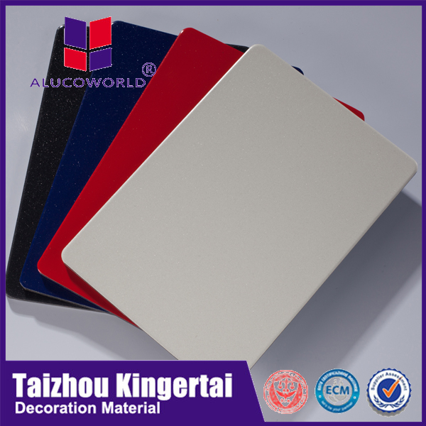 Alucoworld frp exterior wall panels acp aluminum composite acm panel board 4x8 sheet plastic acp