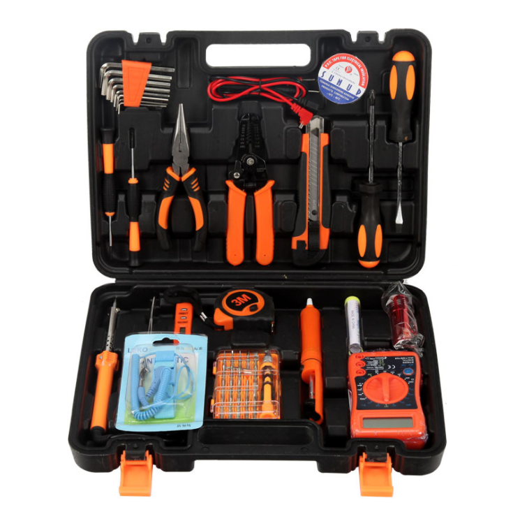 12 in 1 Professional Computer Repair Tools <strong>Kit</strong> Flat Screwdriver Wire Cutter Computer Maintenance Network Repair Tool Box <strong>Kit</strong>