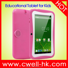 Boxchip Q704 7.0 inch kids tablet Quad core 3G Lovely android tablet WiFi