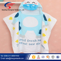 Kids Beach Hooded Towel/Baby Poncho
