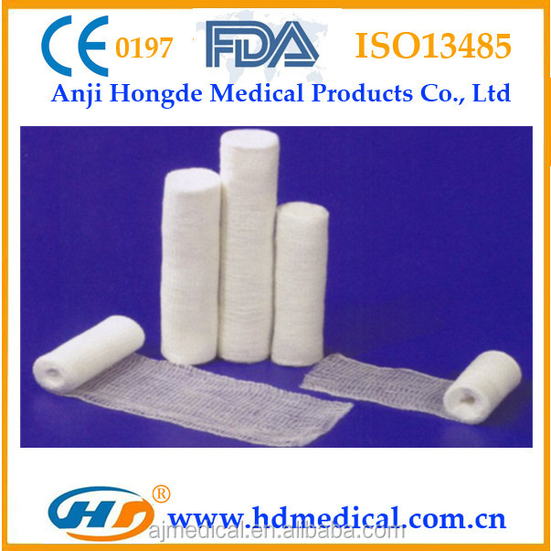 HD-60657 High Quality Pbt Cohesive Elastic Bandage(CE,FDA Approved)