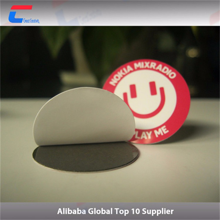 NFC Anti-metal printable micropayment Tag MIFARE DESFire EV1 4K sticker