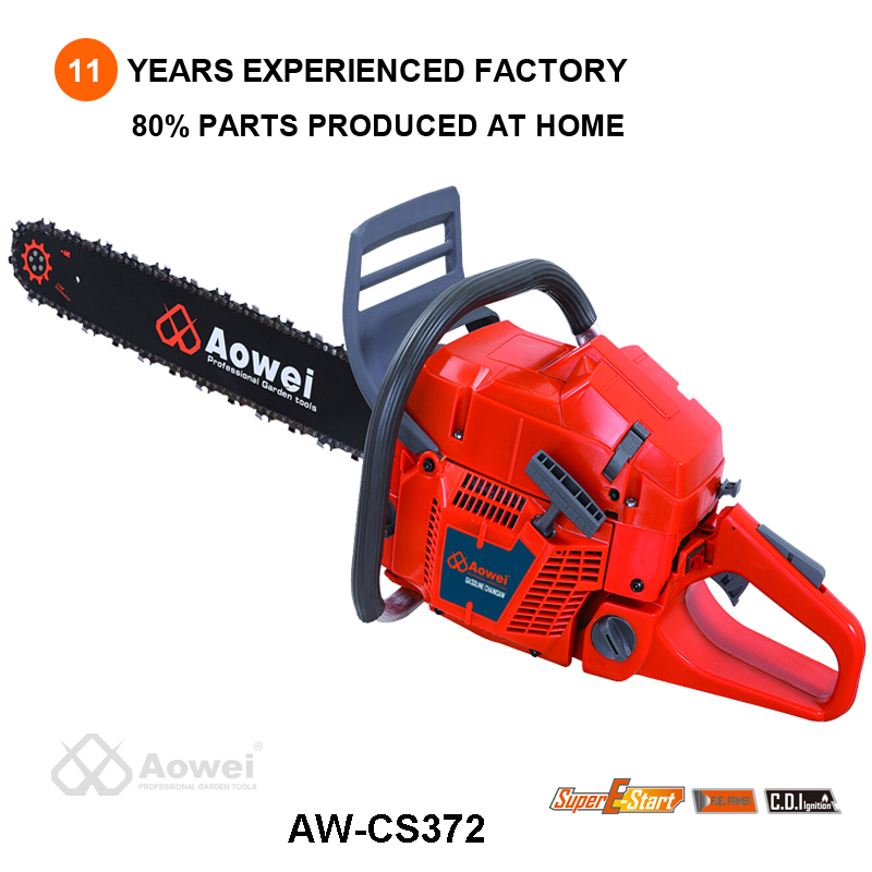 aowei power max 70cc chinese 72cc gasoline 2 stroke chainsaw