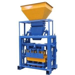 Chinese manufacturer ghana small machine to make concrete blocks