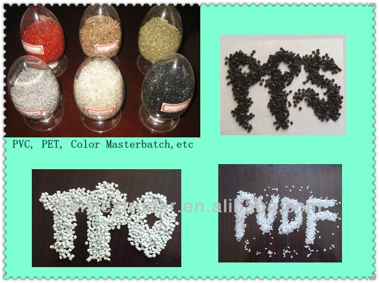 TSE-75 masterbatch pet flakes plastic recycled granules price