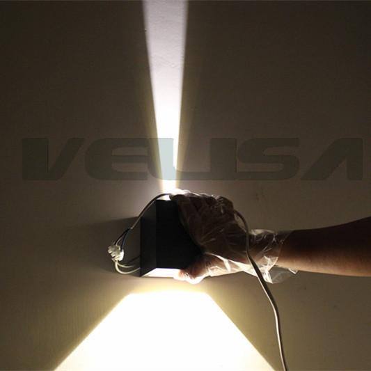 Moderne 6 w wall light up & down led applique éclairage moderne ...