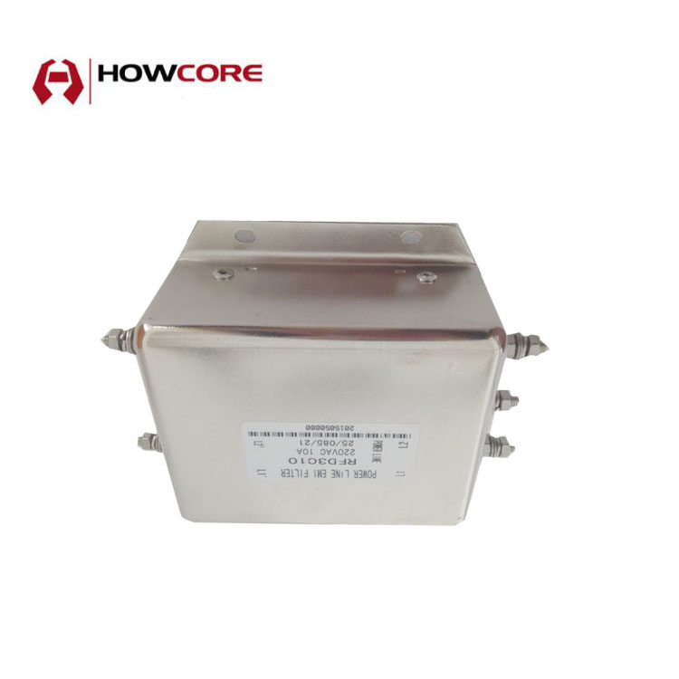 High Power Line Filter 3 Phase AC Filters 220v EMI Filter