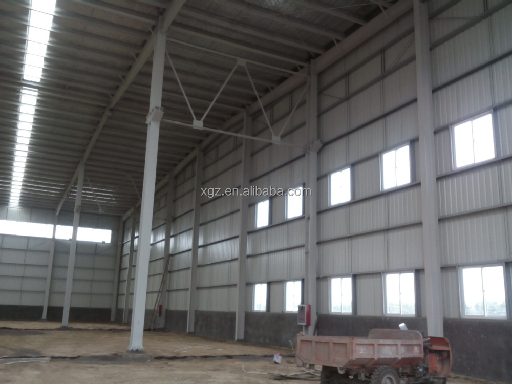Low cost prefab warehouse cost of warehouse construction