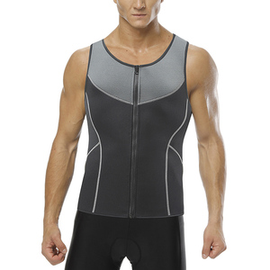 Wholesale Dropshipping Men's Underbust Latex Sport Girdle Waist Trainer Corset Body Shaper