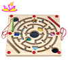 New design educational IQ trainer game wooden ball maze game for kids W11H005