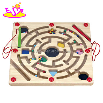 New Design Educational Iq Trainer Game Wooden Ball Maze Game For Kids  W11h005 - Buy Maze Game,Ball Maze Game,Ball Maze Game Product on Alibaba com
