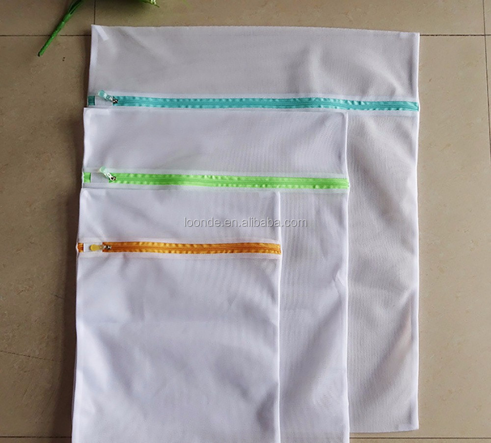 mesh laundry bag for washing machine