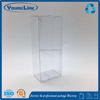 Customized foldable plastic clear pvc box