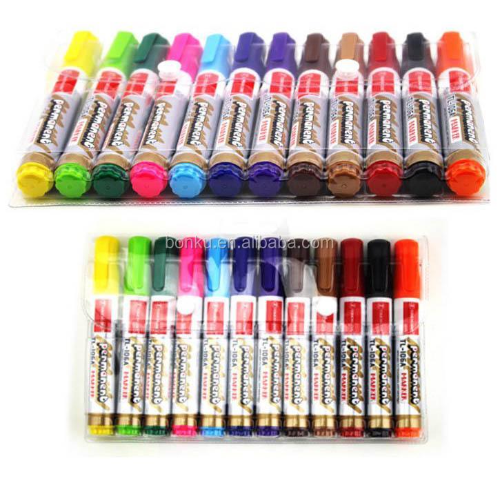 Dry Wipe Whiteboard Marker Pen Set with Eraser