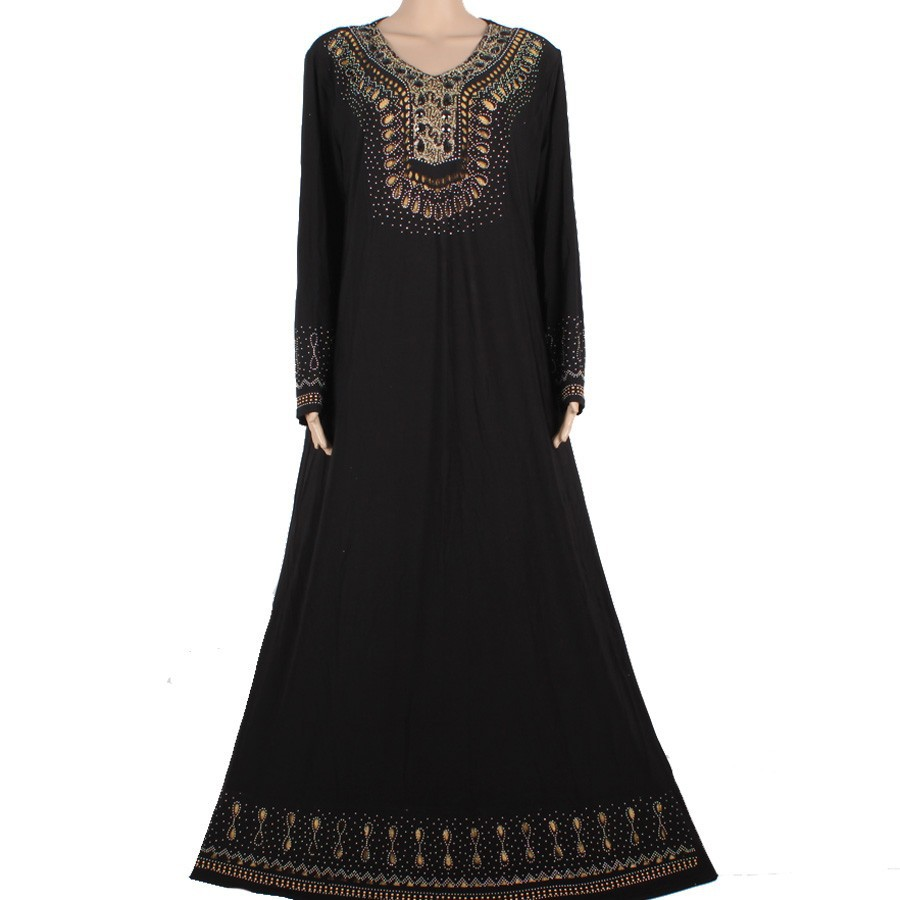 Muslim Islamic Dress For Women Hijab Long Dress Dubai Muslim Abaya