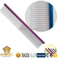 Popular and hot sale in Europe USA dog comb very good for dogs' hair mats and grooming sturdy comb