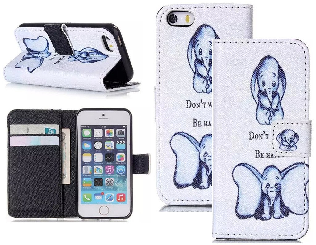 """Candywe 6S Case Wallet,6S Phone Case,Leather iPhone 6S 4.7"""" Case,iPhone 6S Cover,Flip Wallet Cover Printed Design"""