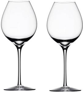 Orrefors Difference Fruit Wine Glasses, Set of 2