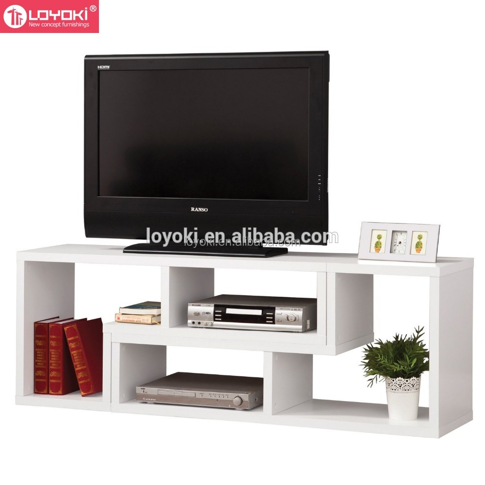Cheap Price Living Room Furniture modern simple design tv cabinet , wooden corner tv stand