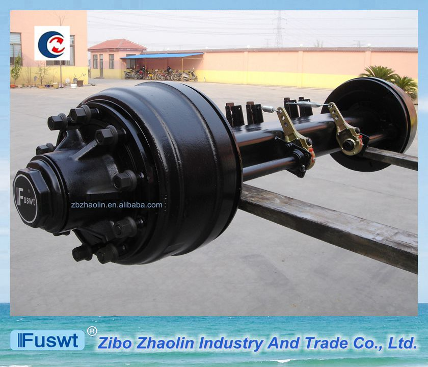 Manufacturer FUWA 13T inboard trailer torsion axle for transportation