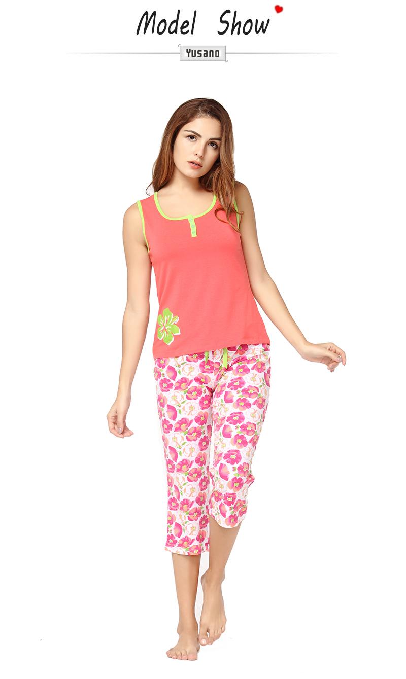 699f34f973 Detail Feedback Questions about Women s Summer Sleepwear Set Cotton ...