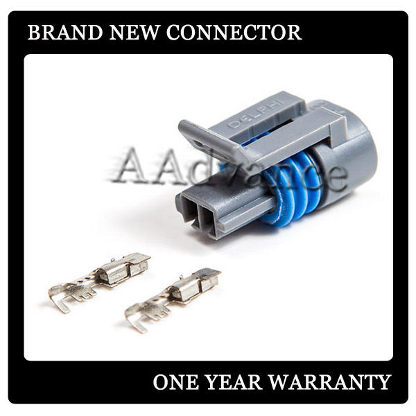 Gm electrical connectors plug for iat intake air