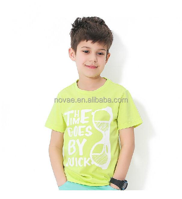 2 8 Years Old Kids T Shirt Wholesale Custom Print T Shirt Children
