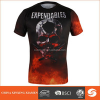 Wholesale red and black The Expendables T shirt