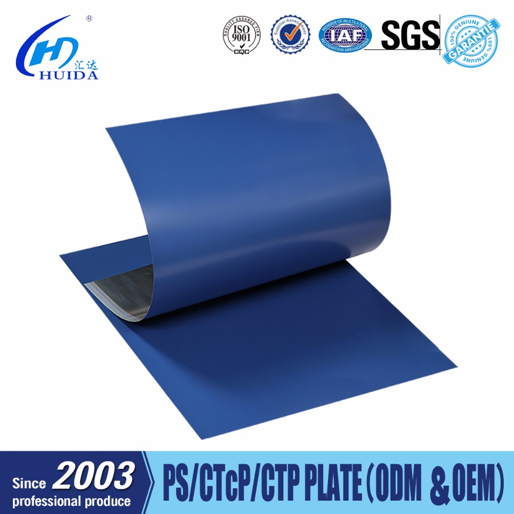 Aluminum threaded plate fuji printing plate with offset printing chemicals