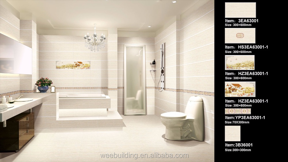 Neueste Design 3d Porcellanato Fliesen Badezimmer Wand Boden