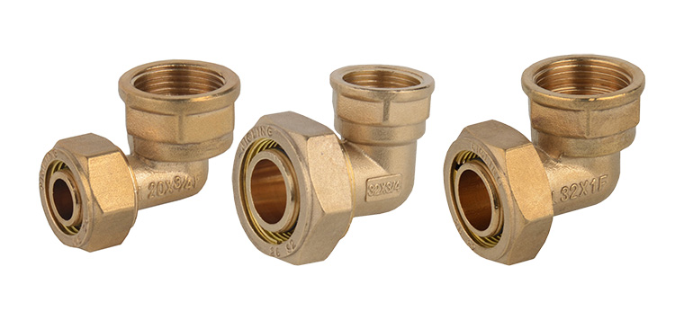 MG-G17 pex pipe fitting brass compression fitting
