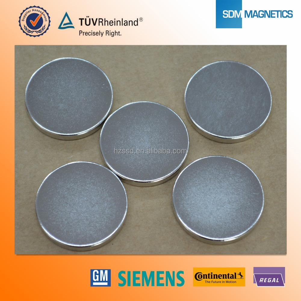 14 Years Experience high quality paper thin magnets with ISO/TS16949