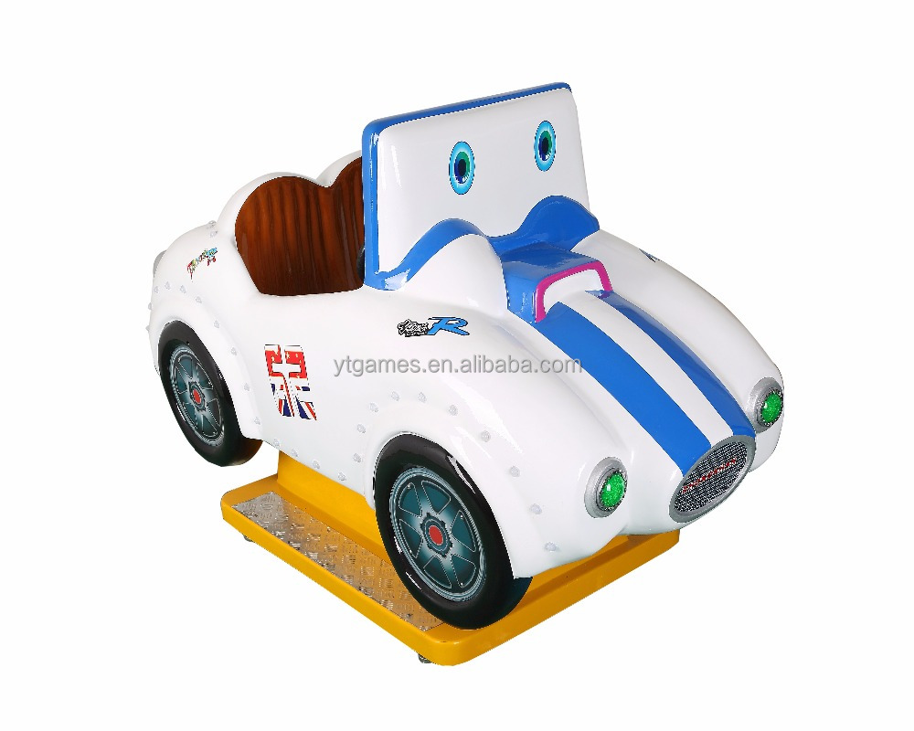 Chinese hot sale Mini kiddie rides super car MP4 video games coin operated game machine for sale