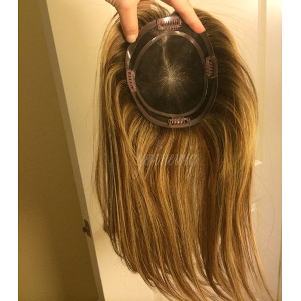 Human Wig Topper Hair And Wigs