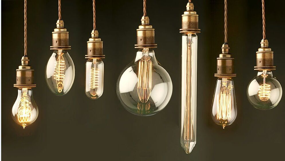 Lantern Shape Vintage Light Edison Bulbs And E26 E27 B22 Base ...