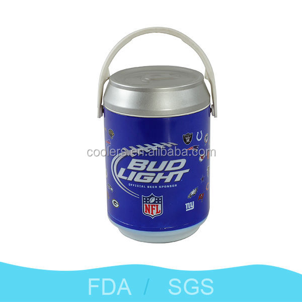 7L metal round long-lasting stainless steel Can Cooler