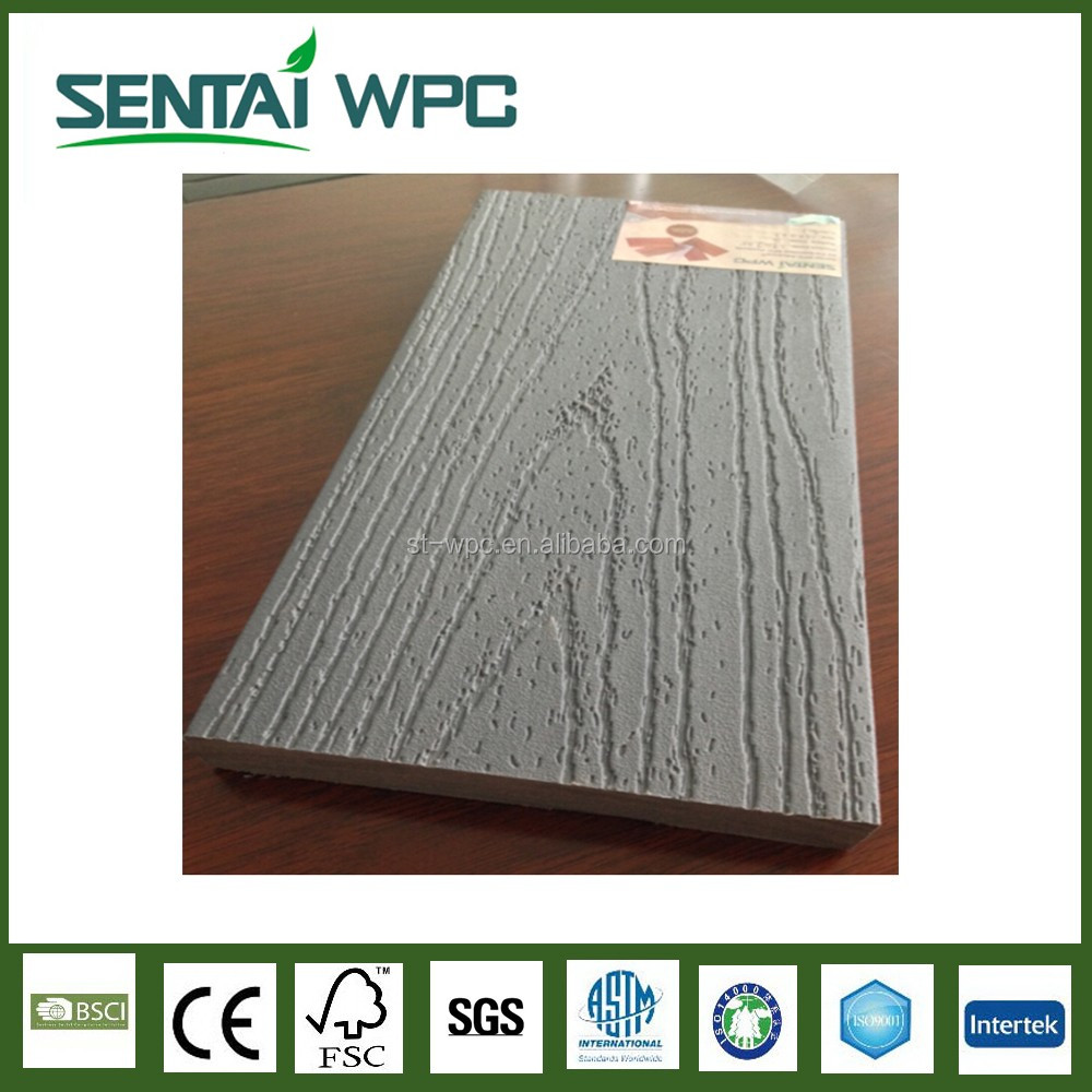 2017 High Quality Decking Wpc Pvc Decking Floor Co extrusion Wpc