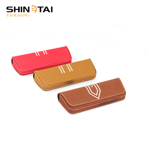 Leather Spectacle Case Sunglasses Gift Box Eyeglass Frame Covers