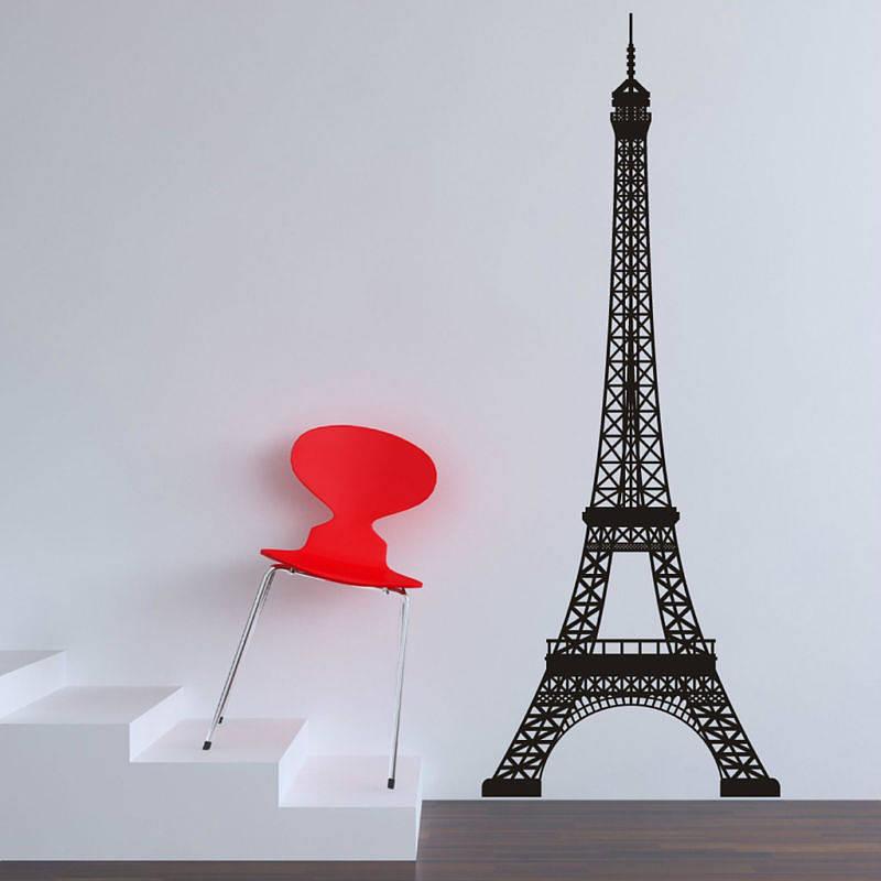 Eiffel Tower Bedroom Decor Art Wall Sticker Buy Eiffel Tower Wall