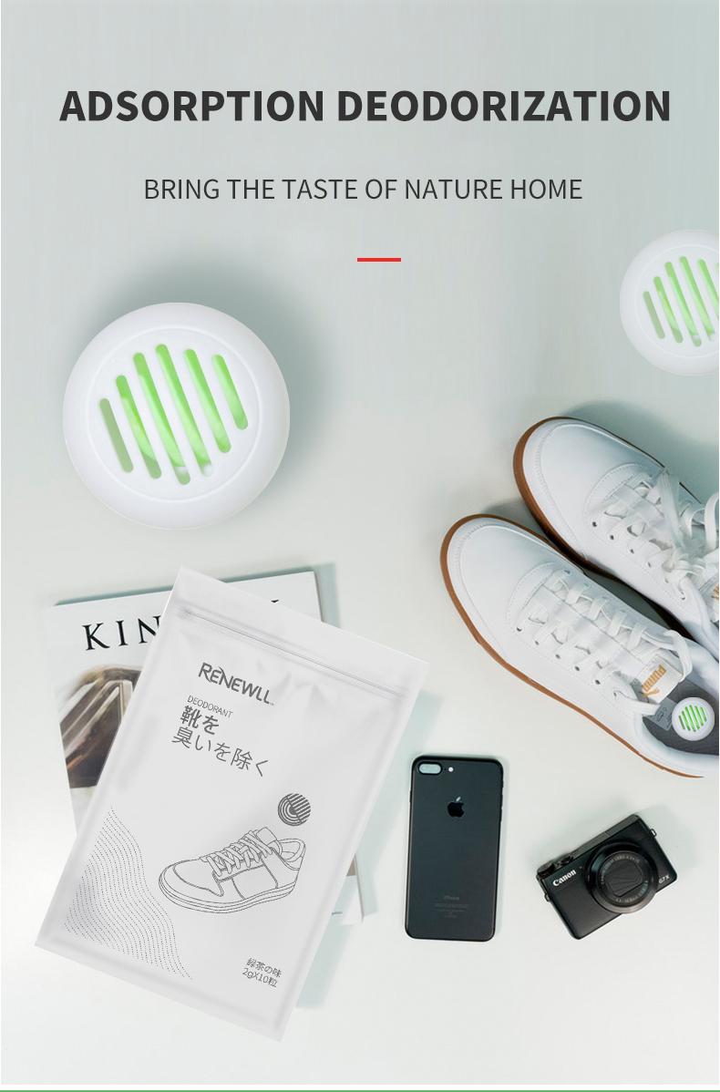 新ファッションスニーカーボール空気清浄臭 10 カプセル靴スニーカーボール靴脱臭吸収