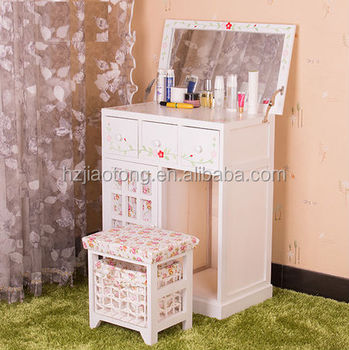 Girls Princess Dressing Table With Mirror Stool Girls Furniture Girls Room
