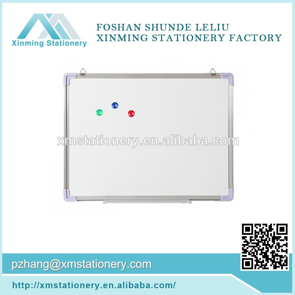 Hot sale magnetic dry teaching board, clean room white board