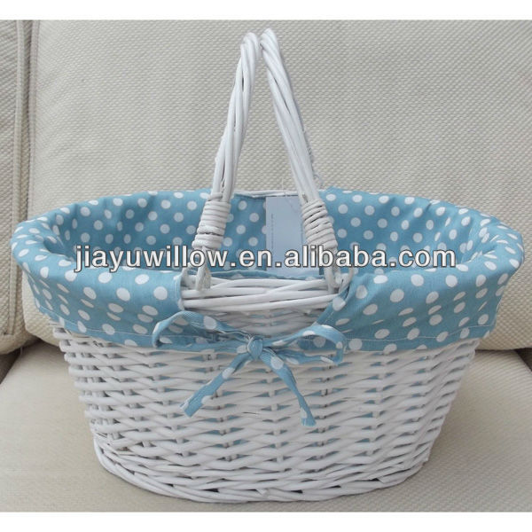 2013 White Wicker Basket Wholesale With Handle Buy White Wicker