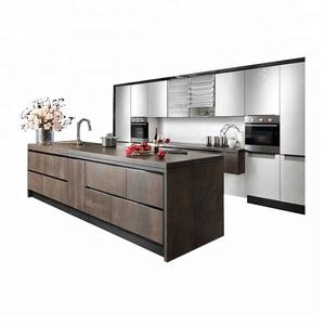 Austalian style prefab home portable kitchen cabinets