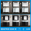 Homedee High quality wash basin bathroom mirror cabinet