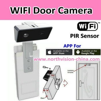 Wifi Front Door Security CameraSupport App Viewing On Iphone - Front door camera iphone