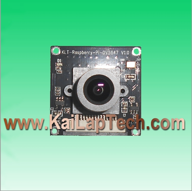 OmniVision OV5647 Raspberry Pi Compatible Fixed Focus 5MP Camera Module KLT-Raspberry-Pi-OV5647 V1.0